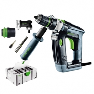 Фото: Festool ударная дрель QUADRіLL PD 20/4 E FFP-Set
