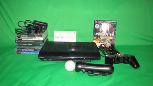 Playstation 3 Super Slim 500GB+PS EYE+PS Move+12 игр