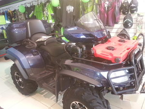 Квадроцикл ARCTIC CAT 1000 Тестовый