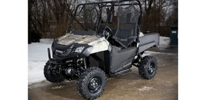 2014 Honda Pioneer 700 Phantom Camo Side-By-Sid